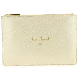 Bridal Pouch Just Married Dames Trousse Universeel