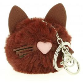 Kara Key Holder - Cat Face Dames Sleutelhanger