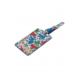 Rect. Bag Tag (Set Of 2) Keith Harring Kofferlabel