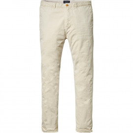 Worn-out chino pants