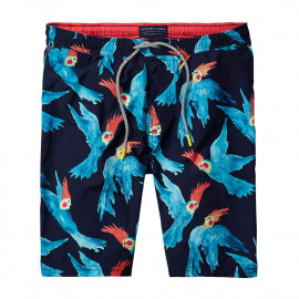 All-over printed swim shorts