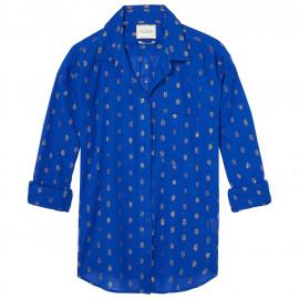 Lurex jacquard shirt