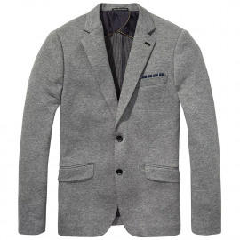 Two-tone blazer