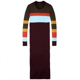sportive rib knit dress