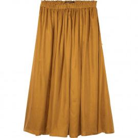 Longer length tencel skirt