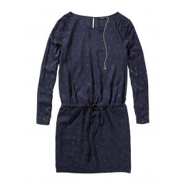 Feminine drapy dress