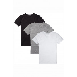 Stretch cn tee ss 3pack (991)