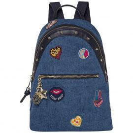 Gigi Hadid Backpack Denim