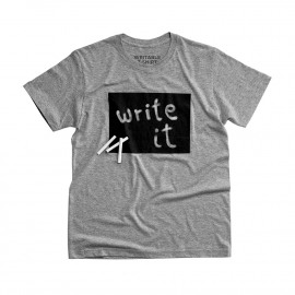 Kids writable t-shirt
