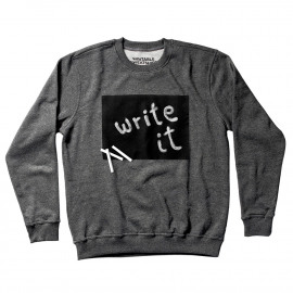 Writable sweater