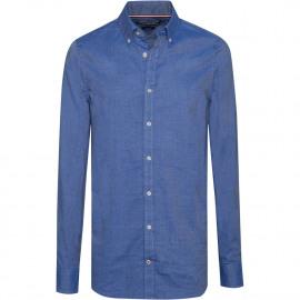 Two tone slim fit shirt