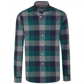 Checked fitted shirt