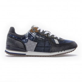 Tinker denim sneakers