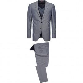 Virgin wool slim fit suit