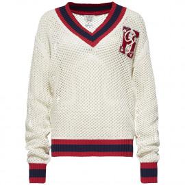 Gigi Hadid Openwork sweater