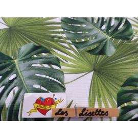 Palmblad Canvas