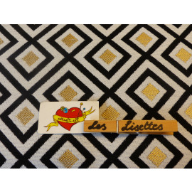 Canvas Ruit Gold
