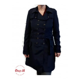 SUMMER TRENCH NAVY