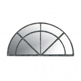 PALACE - Mirror half moon - 4 partitions can be used with 18964 - metal - L 80 x H 40 cm