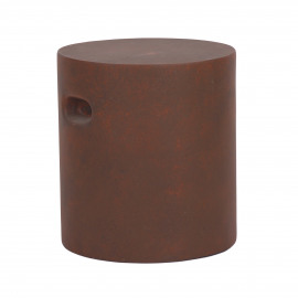 FIBRE - kruk - rond - fiberflex - DIA 37 x H 40 cm - Roest