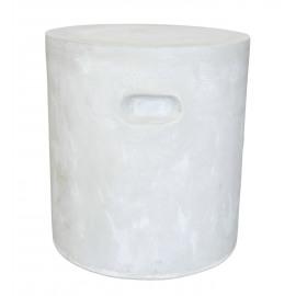 FIBRE - kruk - rond - wit - fiberflex - DIA 37 x H 40 cm