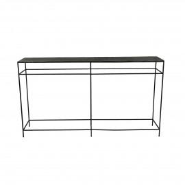 GRAPH METAL - console - iron - aluminium - 140 x 30,5 x 77 cm