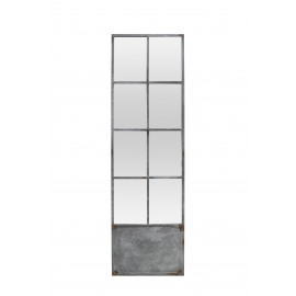 PALACE - Mirror - rectangular door - metal - L 60 x H 200 cm