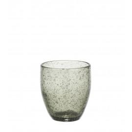VICTOR - goblet - grey - glass - DIA 8,5 x H 9,5 cm