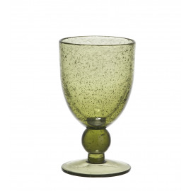 VICTOR Wine glass - olive green H 15 x ø 9 cm - 330ml