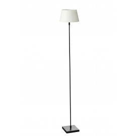 ESSENTIEL - Floor lamp - metal / nickel - L 15 x W 15 x H 120 cm - Nickel