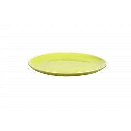 SIXTIES dinner bord - lime H 2.4 x ø 27 cm