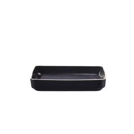 SIXTIES ovenschotel - S - navy black - 29x20x6 cm