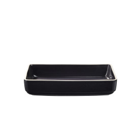SIXTIES ovenschotel - L - navy black - 34x24x7 cm