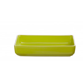 SIXTIES oven dish - L - lime - 34x24x7 cm