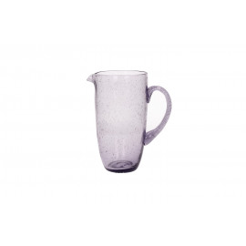 VICTOR - Pitcher - glass - DIA 18 x H 20,5 cm - violet