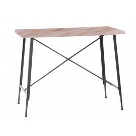 USINE Metalen tafel hoog model 120 x 65 x H 92 cm