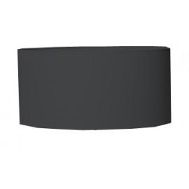 CYL - lampenkap - linnen - DIA 45 x H 18 cm - zwart