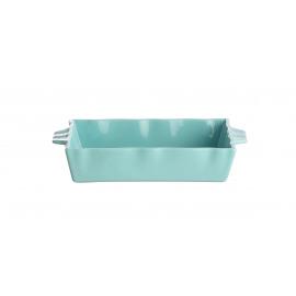 FJORD - bakeware - stoneware - turquoise - M - 28,5X18,5X5,3 cm