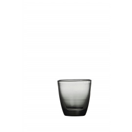 MOUSTIERS tumbler - Blown glass - Smoke - Capacity 280ML
