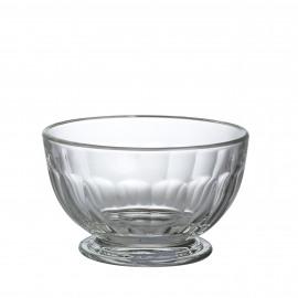 SUZON - bowl 50cl - pressed glass - L  - D13,5xH8 cm