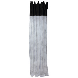 ADELAÏDE - rideau - voile lin/ lin-coton  - 140x280 cmADELAÏDE - curtain - linen voil/linen cotton