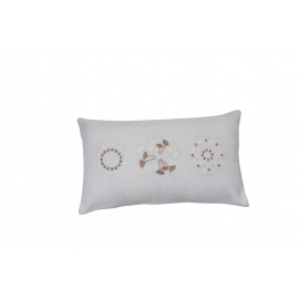 JARDIN D'HIVER - cushion cover - wool/poly - gold - 30x50 cm