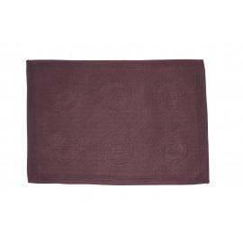 BONG - placemat - fluweel/katoen - purper - 35x48 cm