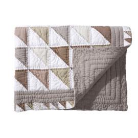 LAMA - plaid - chambray katoen - 130x190 cm