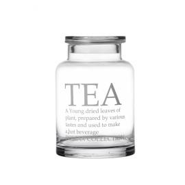 BROOKLYN - voorraadpot thee - glas - M