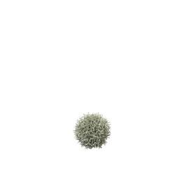 MAQUIS - deco koraal bal - PVC -  S - D12 cm