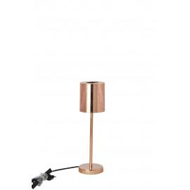 BOOP - lamp + lampekap - metaal - koper - S - Ø11x37