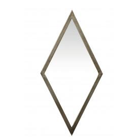 GATSBY spiegel ruitvormig - metaal - 69x4x34 cm