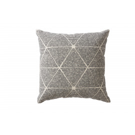 STREET - printed cushion - dark grey - cotton - 45x45cm