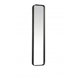 KELLY - Rectangular mirror - metal/mirror - black structure  - M - 76x16x5 cm